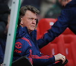 Manchester United Manager Louis van Gaal<br /> - Barclays Premier League - Stoke City vs Manchester United - Britannia Stadium - Stoke on Trent - England - 26th December 2015 - Pic Robin Parker/Sportimage
