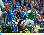 James Tavernier and Graham Dorrans with John McGinn