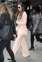NEW YORK, NY - September 11: Elizabeth Olsen at GMA Day to talk about her new movie Sorry For Your Loss ON September 11, 2018. <br /> CAP/MPI/RW<br /> &copy;RW/MPI/Capital Pictures