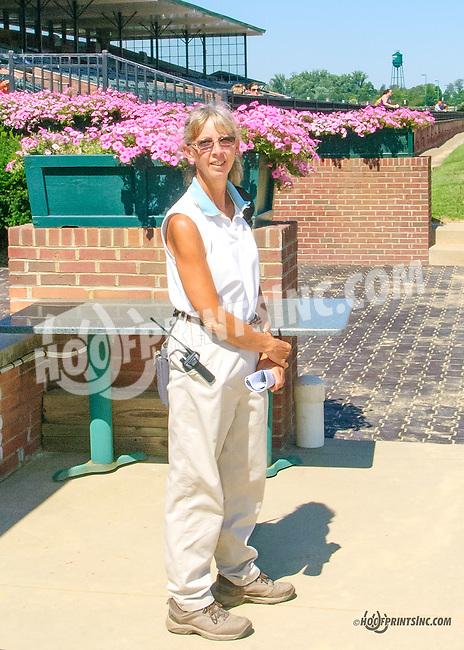 Dr. Susan Botts winning at Delaware Park on 8/3/15