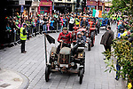 17-3-2014: Brendan Griffin on his tractor during the St. Patrick's Day Parade in Killarney County Kerry on Monday.<br /> Picture by Don MacMonagle