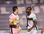 Granada CF's Andres and Foulquier during La Liga match. December 12, 2015. (ALTERPHOTOS/Javier Comos)