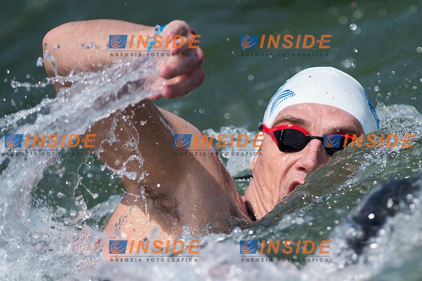 GIANNIOTIS Spyridon GRE<br /> Hoorn, Netherlands <br /> LEN 2016 European Open Water Swimming Championships <br /> Open Water Swimming<br /> Men's 10km<br /> Day 01 10-07-2016<br /> Photo Giorgio Perottino/Deepbluemedia/Insidefoto
