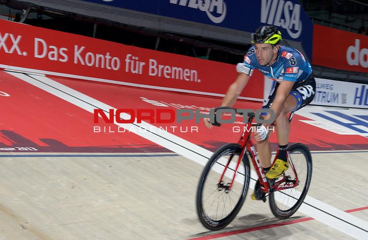 13.01.2015, &Ouml;VB Arena, Bremen, GER, Sixdays Bremen, im Bild Andreas Graf (Team Bike It #8)<br /> <br /> Foto &copy; nordphoto / Frisch