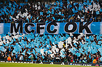 A Manchester City banner during the Champions League Quarter Final 2nd Leg match at the Etihad Stadium, Manchester. Picture date: 10th April 2018. Picture credit should read: David Klein/Sportimage