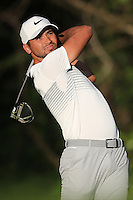 February 18, 2017: Jason Day during the third round of the 2017 Genesis Open played at Riviera Country Club in Pacific Palisades, CA.