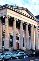 Glasgow: Royal Bank of Scotland, Royal Exchange Square, 1827. Archibald Elliot II.  Photo '90.