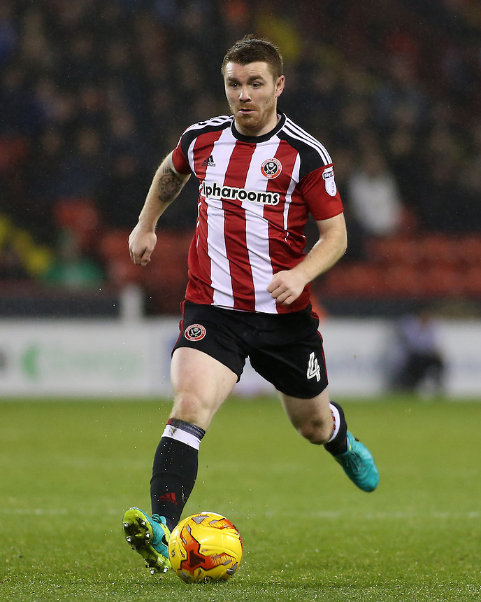 Sheffield United's John Fleck in action during todays match  <br /> <br /> Photographer David Shipman/CameraSport<br /> <br /> The EFL Sky Bet League One - Sheffield United v Bury - Tuesday 22nd November 2016 - Bramall Lane - Sheffield<br /> <br /> World Copyright &copy; 2016 CameraSport. All rights reserved. 43 Linden Ave. Countesthorpe. Leicester. England. LE8 5PG - Tel: +44 (0) 116 277 4147 - admin@camerasport.com - www.camerasport.com