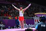 Ä Shogo Nonomura (JPN), <br /> AUGUST 20, 2018 - Artistic Gymnastics : Men's Individual All-Around Vault at JIEX Kemayoran Hall D during the 2018 Jakarta Palembang Asian Games <br /> in Jakarta, Indonesia. <br /> (Photo by MATSUO.K/AFLO SPORT)