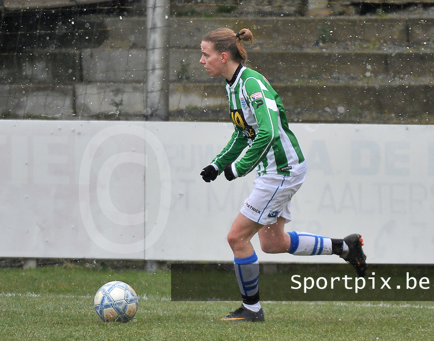 Club Brugge Dames - PEC Zwolle : Jennieke van der Pol .foto DAVID CATRY / Vrouwenteam.be
