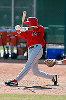 Kevin Ramos - Los Angeles Angels - 2009 spring training.Photo by:  Bill Mitchell/Four Seam Images