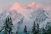 Mt. Shuksan from Heather Meadows<br />