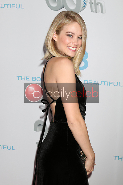 "Kim Matula<br /> at the ""The Bold and The Beautiful"" 30th Anniversary Party, Clifton's Downtown, Los Angeles, CA 03-18-17<br /> David Edwards/DailyCeleb.com 818-249-4998"