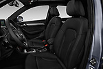 Front seat view of 2018 Audi Q3  2.0T-FWD-tiptronic-Premium-Plus  5 Door SUV front seat car photos