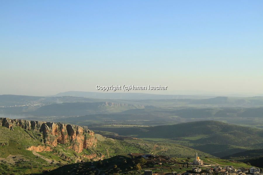 Israel, Akabara cliff in the Upper Galilee