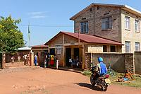 RUANDA, Butare, Institut Saint Boniface, Krankenstation Gikonko, Haupteingang