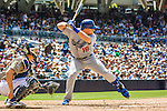 23 June 2013: Los Angeles Dodgers catcher Tim Federowicz in action against the San Diego Padres at Petco Park in San Diego, California. The Dodgers defeated the Padres 3-1, splitting their 4-game Divisional Series at 2-2. Mandatory Credit: Ed Wolfstein Photo *** RAW (NEF) Image File Available ***