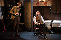 """""""In the Next Room' or """"The Vibrator Play"""" has its UK premiere at the Ustinov Studio Theatre, Bath. Written by Sarah Ruhl and Directed by Laurence Boswell. Picture shows: Edward Bennett (Leo Irving) and Paul Hickey (Dr Givings)."""