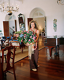 SRI LANKA, Asia, Galle, portrait of Olivia Richli, manager of the Amangalla Hotel in Galle.