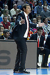 Galatasaray Odeabank Istambul's coach Ergin Ataman during Euroleague, Regular Season, Round 5 match. November 3, 2016. (ALTERPHOTOS/Acero)