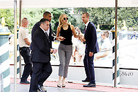 VENICE, ITALY - SEPTEMBER 05: Jennifer Lawrence celebrity Sightings at the 74th Venice Film Festival - September 5, 2017 in Venice, Italy. (Mark Cape/insidefoto)