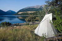 TeePee at Wallowa Lake-north east Oregon