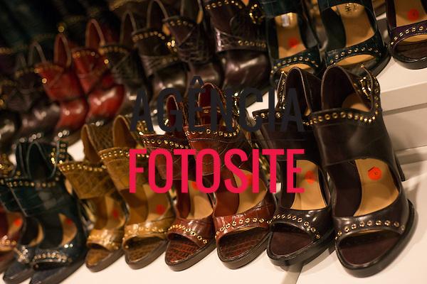 Milao, Italia &ndash; 02/2014 - Desfile de Salvatore Ferragamo durante a Semana de moda de Milao - Inverno 2014. <br /> Foto: FOTOSITE