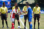 Sheikh Russel vs Rimyongsu during the 2014 AFC President's Cup Final Stage Group B match on September 24, 2014 at the Sugathadasa Stadium in Colombo, Sri Lanka. Photo by World Sport Group