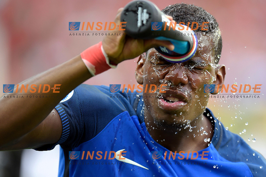 Paul Pogba ( France ) <br /> Paris 10-07-2016 Stade de France Football Euro2016 Portugal - France / Portogallo - Francia Finale/Finals<br /> Foto Federico Pestellini / Panoramic / Insidefoto