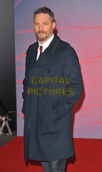 Tom Hardy attends the &quot;The Revenant&quot; UK film premiere, Empire cinema, Leicester Square, London, UK, on Thursday 14 January 2016.<br /> CAP/CAN<br /> &copy;Can Nguyen/Capital Pictures