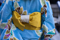 Kimono detail, From Hiroshima to Hope 2015, Seattle, Washington, USA.