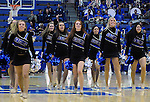 February 4, 2015 - Colorado Springs, Colorado, U.S. -    Air Force Academy Dance Team during a Mountain West Conference match-up between the New Mexico Lobos and the Air Force Academy Falcons at Clune Arena, U.S. Air Force Academy, Colorado Springs, Colorado.  Air Force upsets New Mexico 53-49.