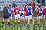 A brawl which broke out during the Dromid Pearses v  Derrytresk in the AIB All Ireland Junior Club Championship Semi Final at Portlaoise on Sunday