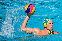 8 YOUNGER Aaron AUS <br /> FRA (white cap) -  AUS (blue cap)<br /> Preliminary Round Water Polo Women<br /> Day06  19/07/2017 <br /> XVII FINA World Championships Aquatics<br /> Alfred Hajos Complex Margaret Island  <br /> Budapest Hungary <br /> Photo @ Deepbluemedia/Insidefoto