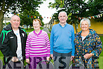 l-r  Denis Guerin, Nora O'Neill, Sean O'Neill and Bridget Lehane at the annual Mass in Connolly Park, Tralee on Friday