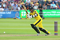 Ian Cockbain in batting action for Gloucestershire during Gloucestershire vs Essex Eagles, NatWest T20 Blast Cricket at The Brightside Ground on 13th August 2017