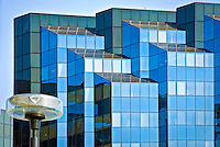 Irvine, Office Building, Main Street, Architectural, Reflective, Glass, Exterior, looking up, Orange County, CA, United States