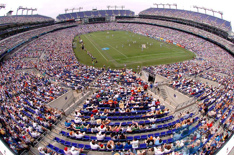 28 MAY 2007: General view of M+T Bank Stadium during the Division I Men?s Lacrosse Championship held at M&T Bank Stadium in Baltimore, MD. Johns Hopkins defeated Duke 12-11 for the national title.  Larry French/NCAA Photos