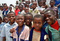 School children, Cameroon, Africa