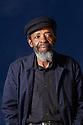 Keorapetse Kgositile ,South African Poet Laureate  at The Edinburgh International  Book Festival 2010 .CREDIT Geraint Lewis