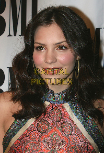 KATHARINE McPHEE .55th Annual BMI Pop Music Awards held at the Regent Beverly Wilshire Hotel, Beverly Hills, California, USA..May 15th, 2007.headshot portrait katherine catherine gold hoop earrings paisley pink .CAP/ADM/CH.©Charles Harris/AdMedia/Capital Pictures