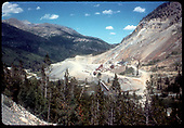 View of Monarch mill and mine.<br /> D&amp;RGW  Monarch, CO
