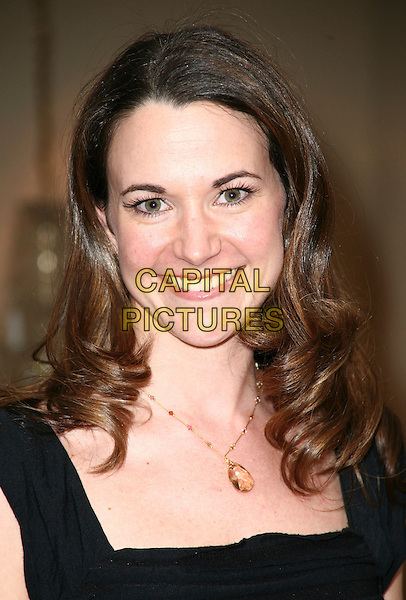 "KATE FORSATZ.8th Annual New Jersey Film Festival World wide screening of ""The Camera's Eye"" held at the Berkeley Hotel Asbury Park New Jersey, Asbury Park, NJ, USA,.27th March 2010..portrait headshot black smiling necklace.CAP/ADM/PZ.©Paul Zimmerman/Admedia/Capital Pictures"