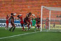 SAO PAULO, SP, 16 DE DEZEMBRO 2012  - TORNEIO INTERNACIONAL CIDADE DE SAO PAULO - Defesa da goleira de Portugal durante partida contra Mexico valida para o Torneio Internacional Cidade se Sao Paulo no Estadio do Pacaembu na tarde deste domingo . FOTO VANESSA CARVALHO - BRAZIL PHOTO PRESS.