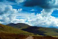 Beinn Challum from Glen Cononish near Tyndrum, Loch Lomond and the Trossachs National Park