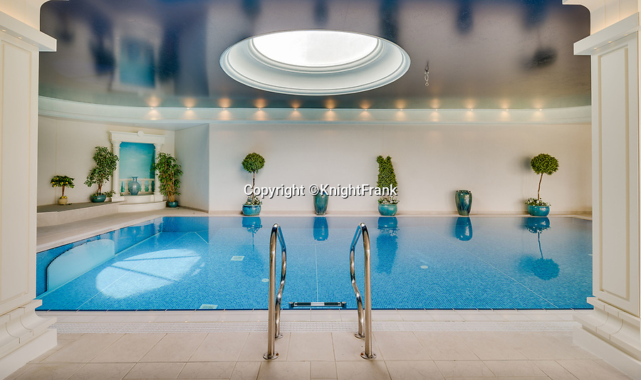 BNPS.co.uk (01202 558833)<br /> Pic: KnightFrank/BNPS<br /> <br /> Beautiful swimming pool.<br /> <br /> A breathtaking waterfront mansion that was once home to Sir Francis Drake has emerged for sale for £5m.<br /> <br /> Belvedere in Exmouth, Devon, is nestled on the banks of the River Exe and was historically part of the Nutwell Estate.<br /> <br /> Nutwell was the Drake family home and passed through the generations before falling into the hands of the explorer in the 16th century.