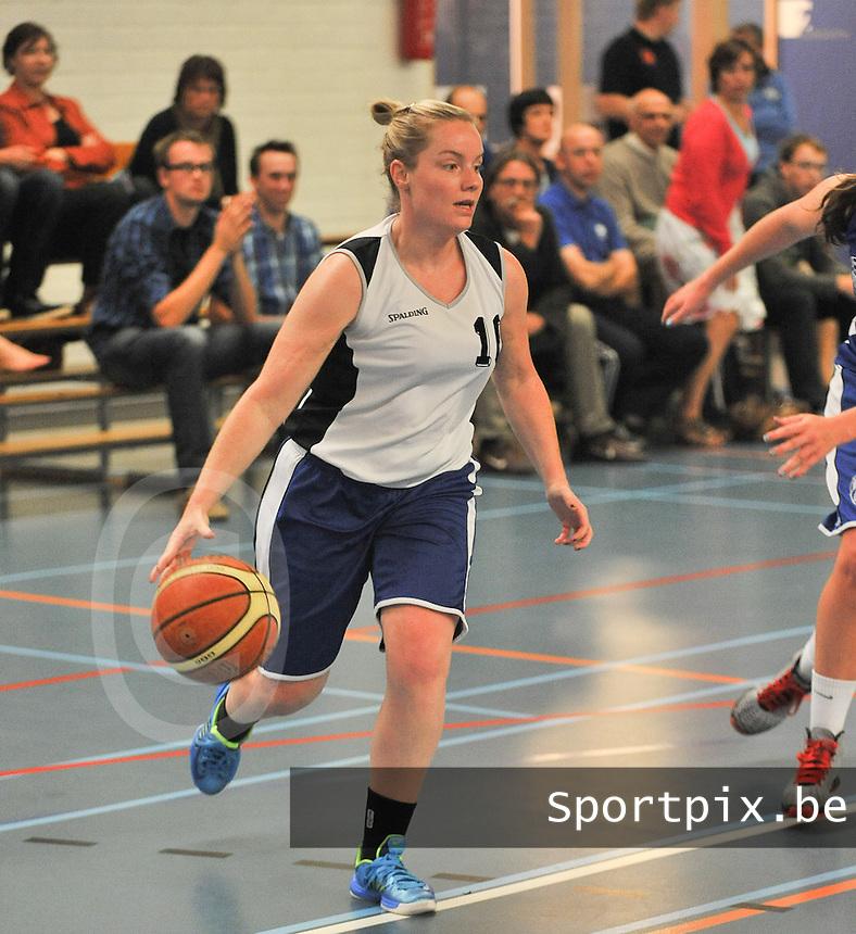 Blue Stars Brugge Dames : Sylvie De Baere <br /> foto VDB / Bart Vandenbroucke