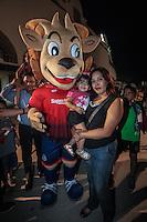 CimarronesFC vs Loros de Colima<br /> &copy; Foto: LuisGutierrez/NORTEPHOTO.COM La Mascota Ron Cimarron.<br /> CimarronesFC vs Loros de Colima<br /> &copy; Foto: LuisGutierrez/NORTEPHOTO.COM
