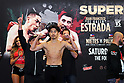 Boxing: WBC Silver Super Flyweight SUPERFLY 3 weigh-in: Kazuto Ioka vs McWilliams Arroyo