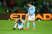 3rd November 2017, Melbourne Rectangular Stadium, Melbourne, Australia; A-League football, Melbourne City FC versus Sydney FC; Bart Schenkeveld of Melbourne City FC looks back after Melbourne City FC lost the game